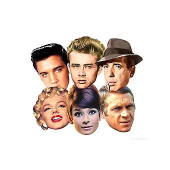 Pacote de máscara de rosto Hollywood ícone