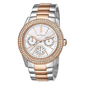 ESPRIT Handklockor armbandsur pion rostfritt stål bicolor ES103822016