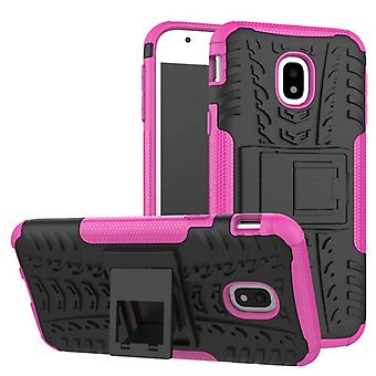 Hybrid case 2 piece SWL outdoor Pink for Samsung Galaxy J3 J330F 2017