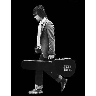 Jeff Beck Profile Poster Poster Print