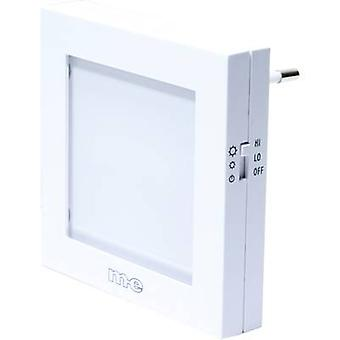 m-e modern-electronics Night light Square LED (monochrome) Amber White