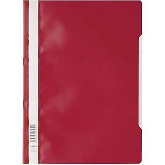 Durable 2573 257303 Manila folder Red A4