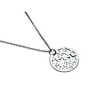 Gemshine kvinnors halsband hänge 925 silver stjärnor Constellation 2,5 cm