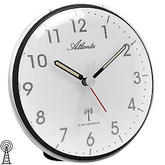 Radio-ohjattu herätyskello herätyskello hiljainen ajaa radioviritintä valaistus
