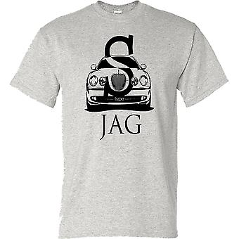 Jaguar S Type Classic Car Kids T Shirt