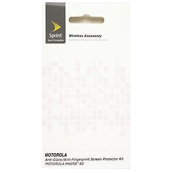 Premium Anti-Glare/anti-vingerafdruk schermbeschermers voor Motorola photon 4G MB855 (2 pack)