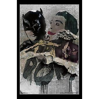 Batman - Grunge Poster Print