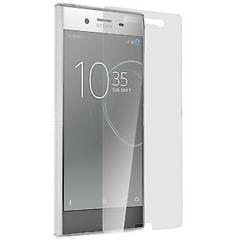 Back case + Screen Protector Tempered Glass Clear Sony Xperia XZ Premium
