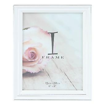Juliana iFrame store fotoramme 6 x 8 - hvit/sølv