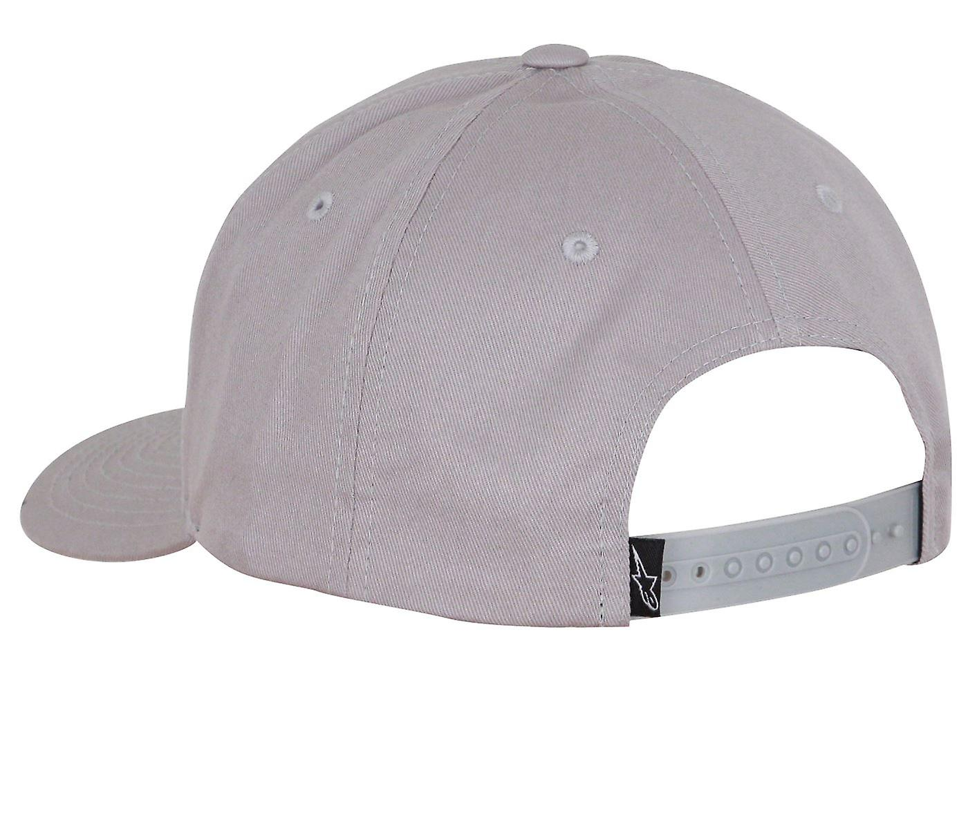 Alpinestars Mens Snapback Cap ~ Cover grey