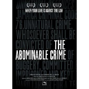 Abominable Crime [DVD] USA import