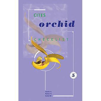 CITES Orchid Checklist - Volume 5 - Bulbophyllum by A. Sieder - H. Rain