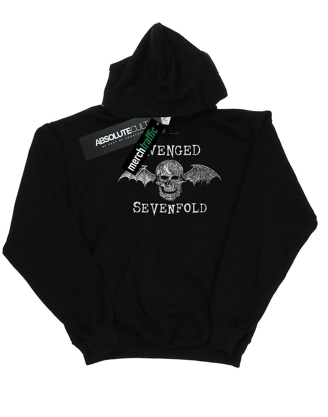 Avenged Sevenfold Women's Cyborg Deathbat Hoodie