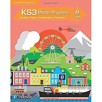 KS3 Matematik Student bok Theta 1: [Theta] en (KS3 matematik-serien)