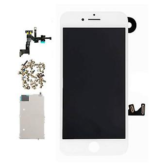 Stuff Certified ® iPhone 7 Plus Pre-assembled Screen (Touchscreen + LCD + Parts) A + Quality - White + Tools