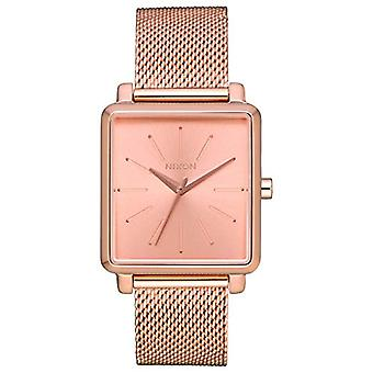 Nixon women's Quartz analogue watch with stainless steel band A1206-897-00