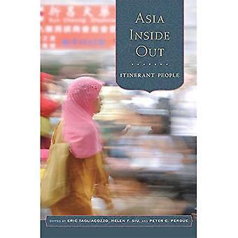 Dentro para fora de Ásia: Pessoas itinerantes