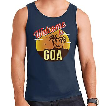 Tervetuloa Goa miesten 's liivi
