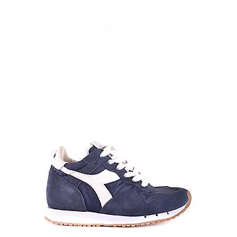 Diadora Ezbc116016 Mujer's Zapatillas de ante azul