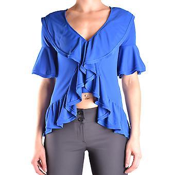 Dondup Ezbc051055 Women's Blue Viscose Top