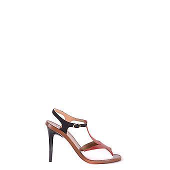 L'autre Koos Ezbc085005 Women's Red Leather Sandalen