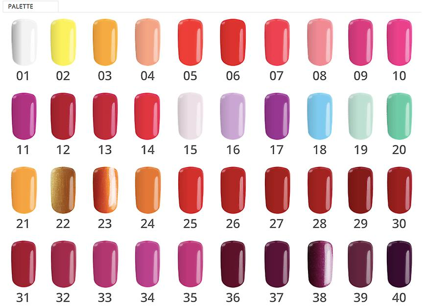 Gel polish-Flexy-* 17 4, 5G UV gel/LED