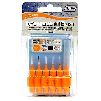 Tepe Interdentalbürste 0,45 Orange 6