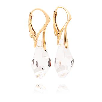 Outstanding Earrings Made In Vermeil: 24K Solid Gold Over Sterling Silver & Stamped 925