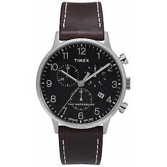 Timex | mens Waterbury Classic Chrono | Cadran noir | TW2T28200D7PF Watch