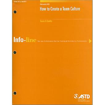 How to Create a Team Culture 250110 by Rose - 9781562862763 Book
