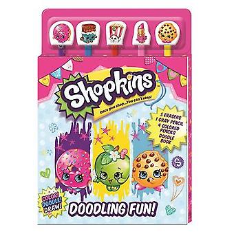 Shopkins - Doodling Fun by Editors Of Silver Dolphin Books - 978162686