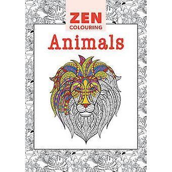 Zen Colouring - Animals - 9781784940959 Book