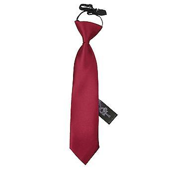 Pianura di Borgogna raso elastico cravatta per i ragazzi