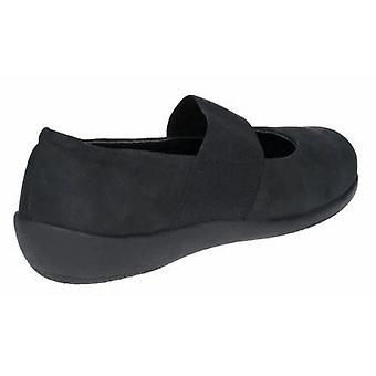 The Flexx Womens/Ladies Campy Nubuck Leather Slip On Shoe