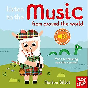 Listen to the Music from Around the World (Listen to the...) [Board book]