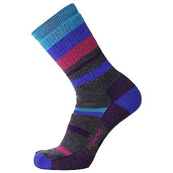 Point 6 Imperial Hiking Crew Medium Sock