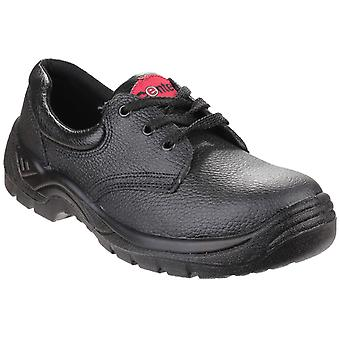 Centek Mens FS337 Lace-up Safety Shoe Black