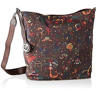 piero guidi Hobo Bag Reversible Brown Shoulder Bag (Caffe) 32.0x35.0x13.0 cm (W x H x L)