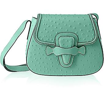 Chicca Bags 8616 Turquoise Women's Shoulder Bag (Marina) 25x20x9 cm (W x H x L)