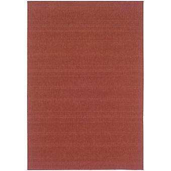 Lanai 781c8 red indoor/outdoor rug rectangle 7'3