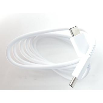 Official Samsung EP-DG977BWE USB-C to USB-C Data Charging Cable for Samsung Galaxy Note 10/10+ - White