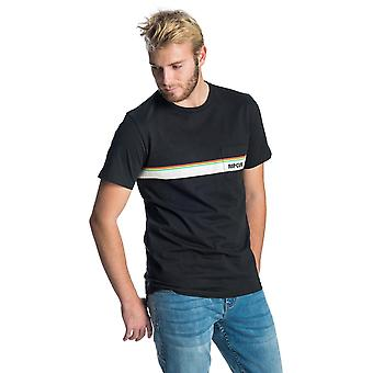 Rip Curl Mama skyline korte mouw T-shirt in zwart