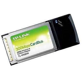 Adattatore Cardbus wireless 300m (TL-WN811N),2.4Ghz,