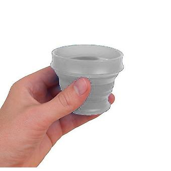 Lewis N. Clark GoCup Collapsing Travel Cup, Small, Clear #HG0310