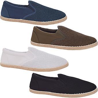 Chaussures de pompes À mailles mailles décontractées En tricot Lambretta