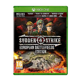 Plotselinge staking 4 Europese slagvelden editie Xbox One-spel