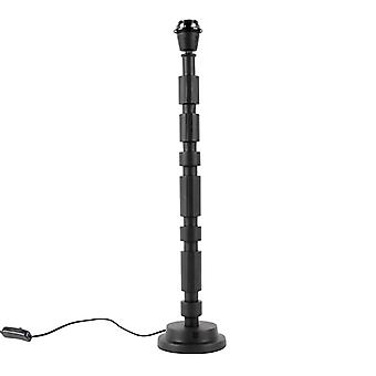 QAZQA Art Deco table lamp black without shade - Torre