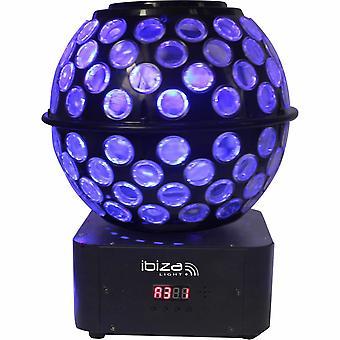 Ibiza Sound Ibiza Starball-GB Ball gobo effect