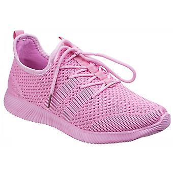 Sneakers Divaz Heidi dames mesh roze