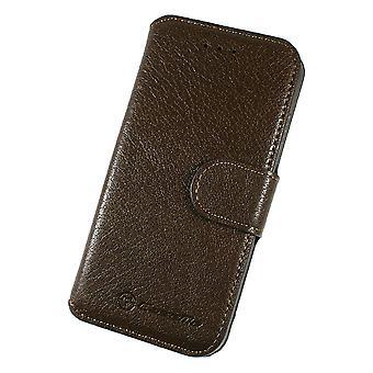 Case For iPhone 6 Plus / 6s Plus Book Type Dark Brown